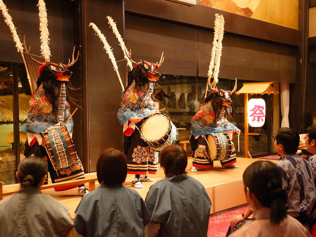 郷土芸能「鹿踊り」